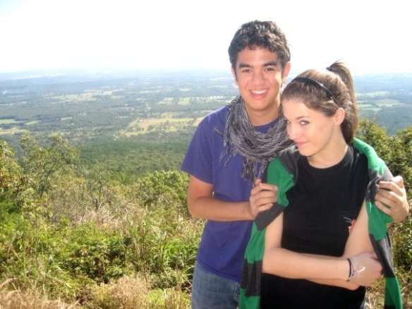 Christa and me back in 2009.