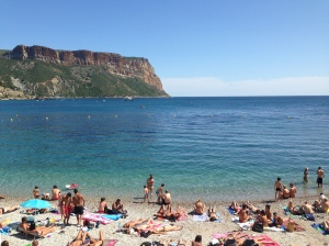 Beach in Cassis