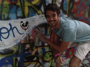 Tagging the Lennon Wall