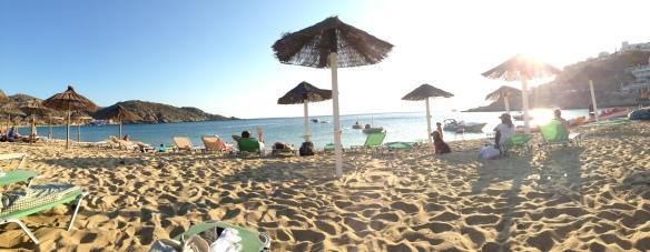 The main beach in Ios