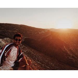 Sunset from the Paleokastro