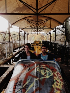 Breaking the rules and into an abandoned theme park in Berlin.