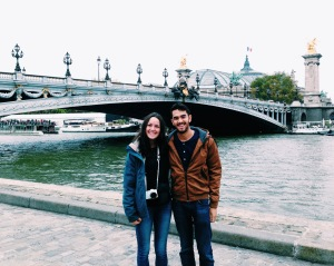 Jess and me on the Seine