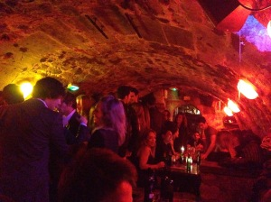 Chez Georges - the underground wine bar