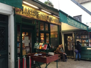 Shakespeare and Co. Bookstore
