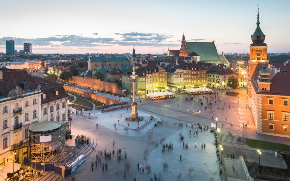 Stare Miasto in Warsaw. Photo credit: Bitcoin Examiner