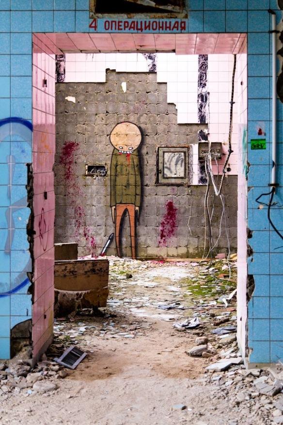 Literally killer graffiti. Photo credit: Jesse Martin