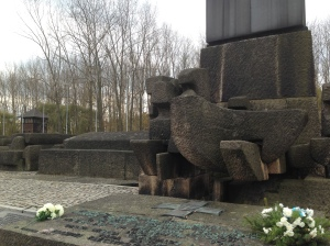 Victim Monument at Auschwitz