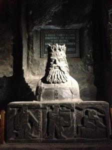 Salt sculpture in Wieliczka
