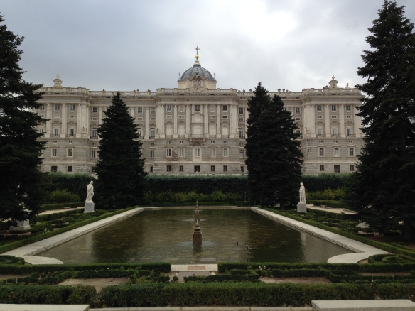 Sabatini Gardens and the Royal Palace