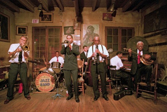 Preservation Hall. Photo by Encyclopedia Britannica (photos not allowed)