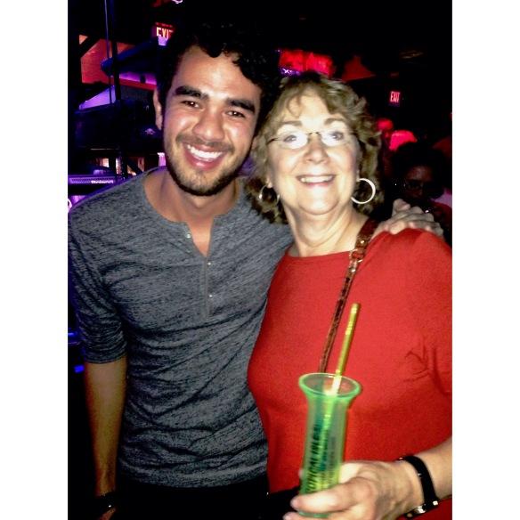 Mom and I take Bourbon!
